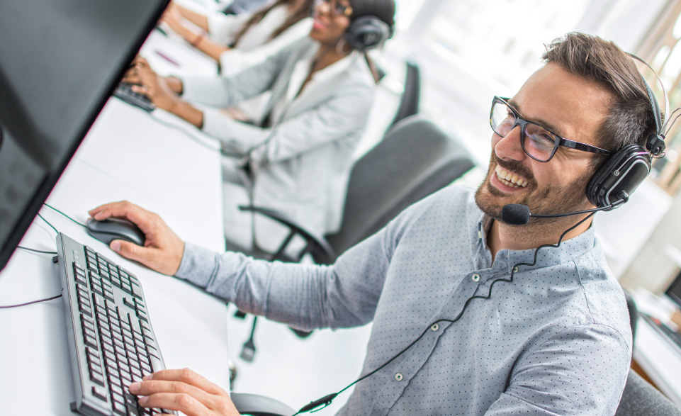 Call Center Inbound Voice Technology