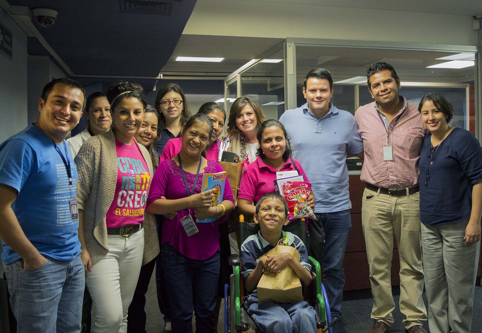 The Office Gurus supporting youth in El Salvador