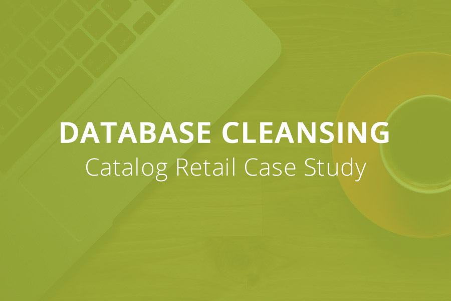 Catalog Retailer:Database Cleansing Case Study