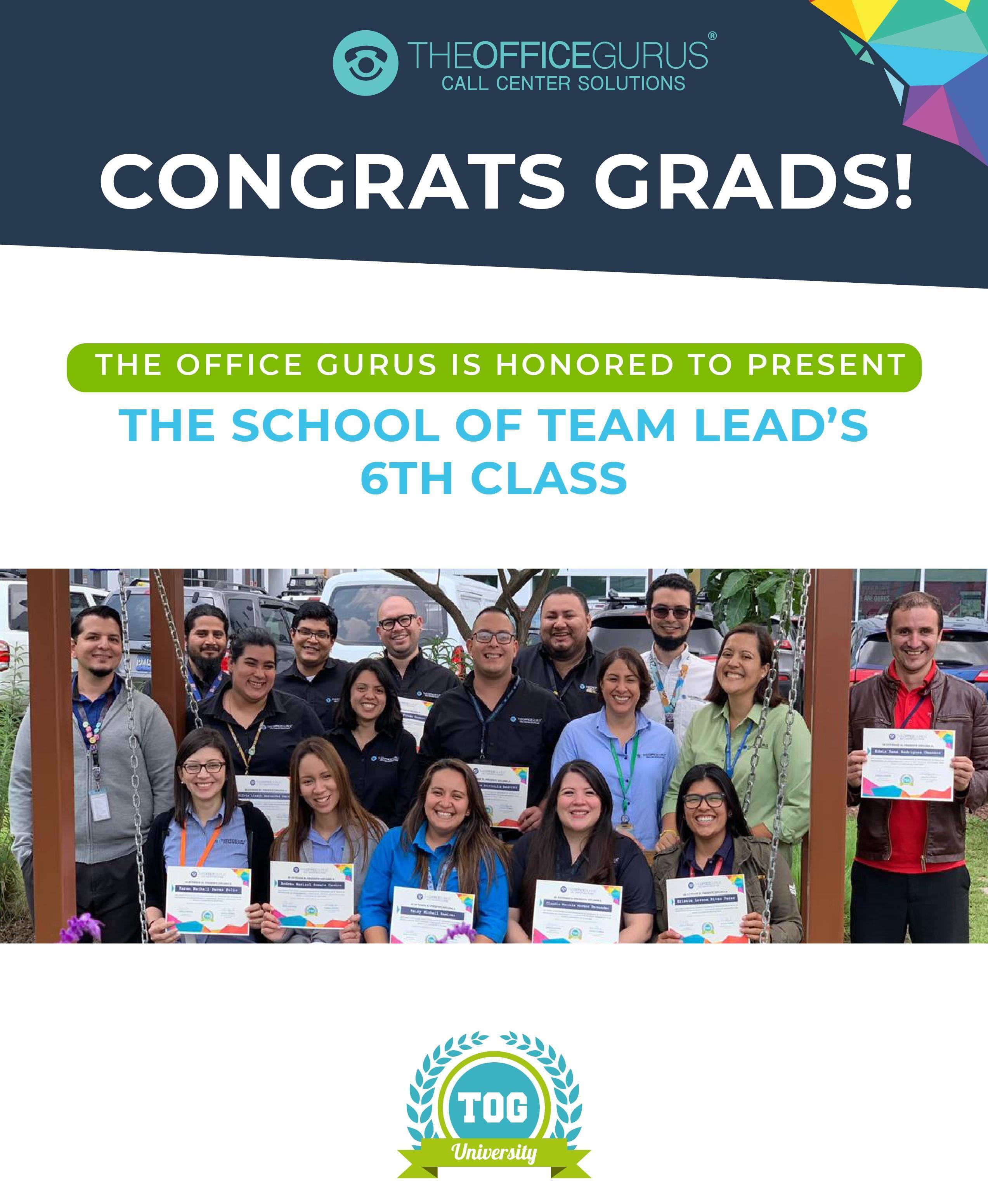 TOG University: Congrats Grads